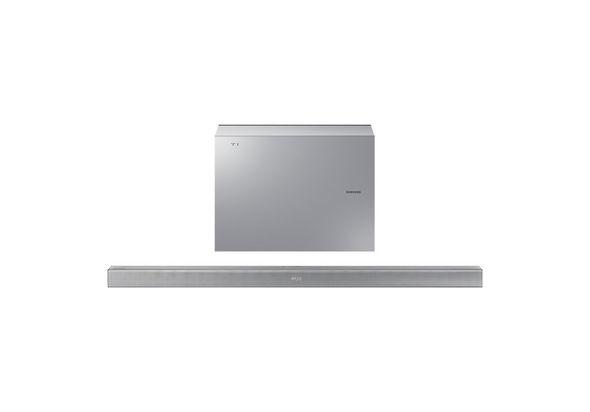 Samsung HW-J551 Wireless Soundbar with Wireless Subwoofer.