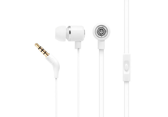 Wicked Audio Panic Earbuds With Mic, Skeleton