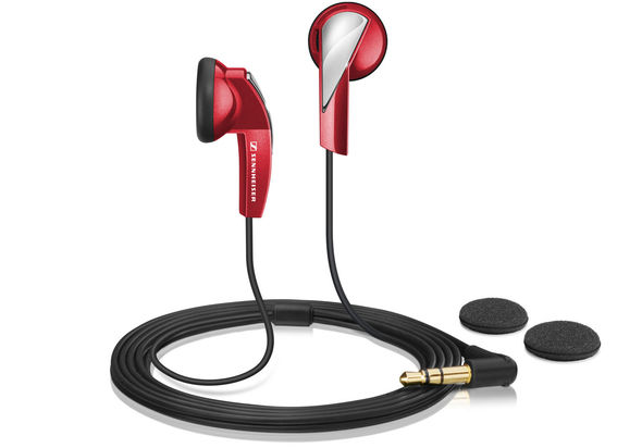 Sennheiser MX 365 Red Stereo earphones
