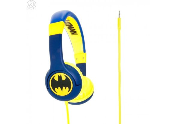 Batman The Caped Crusader Children s Headphones, Blue