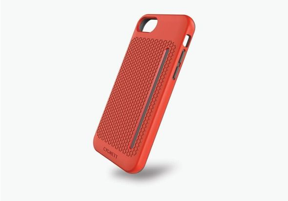 Cygnett Workmate Pro Case for iPhone 7, Red/Grey
