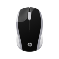 HP 200 Wireless Mouse, Silver