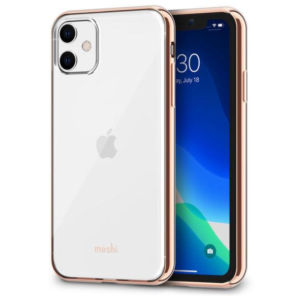 Moshi MSHI-H-103304 Vitros Case For iPhone 11, Gold