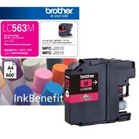 Brother BG-LC563M Ink Cartridge, Magenta