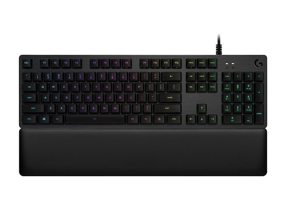Logitech G513 RGB Mechanical Gaming Keyboard, Romer-G Linear, USB Passthrough