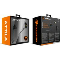 Cougar CG-HS-ATTILA-BLK In-Ear Gaming Headset, Black