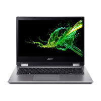 """Acer Spin 3 i5 8GB, 1TB 14"""" Laptop, Silver"""