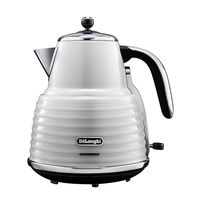 DeLonghi KBZ 3001 Scultura Kettle, White