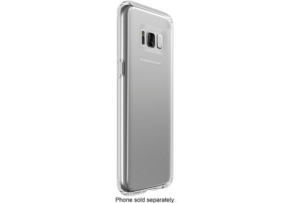 Speck Presidio Clear Case for Samsung Galaxy S8, Clear