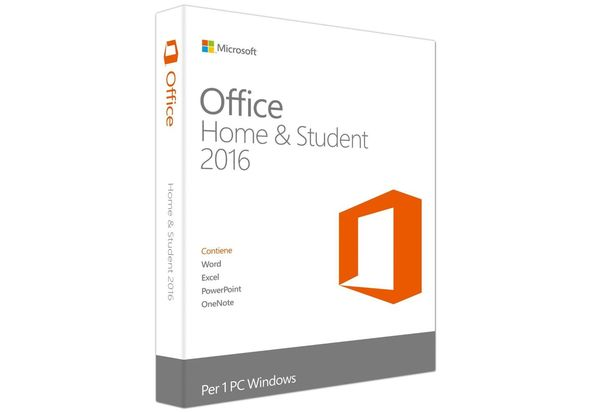 Microsoft 79G 04365 Office Home and Student 2016 DVD