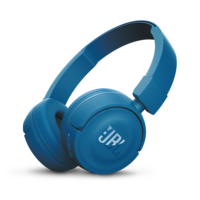 JBL T450BT Wireless On-ear Headphones, Blue