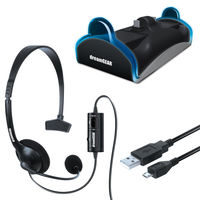 DREAMGEAR Ps4 - Charge Chat Bundle