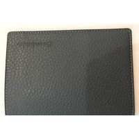 Bombata Genuine Leather Passport case, Navy Blue