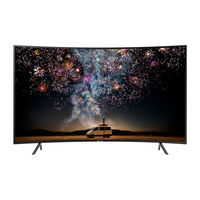 "Samsung 65"" RU7300 Curved Smart 4K UHD TV"