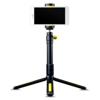 Black Eye Tripod Filming Handle Tripod and Bluetooth Shutter