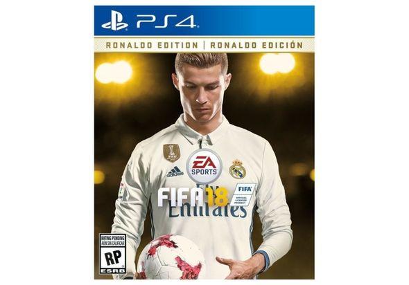 Pre Order FIFA 18 - Ronaldo Edition for PS4