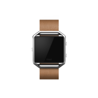 Fitbit Blaze Accessories Leather Band+ Frame Large, Camel