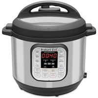 Instant Pot Electric Pressure Cooker 6L, Black / Chrome