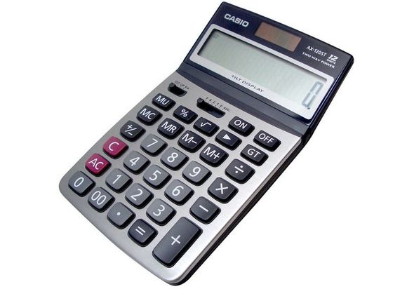 Casio AX-120ST Value Series Calculator