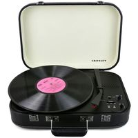 Crosley CR6026A-BK Coupe Bluetooth Turntable, Black