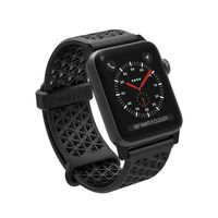 Catalyst Sports Band Strap for Apple Watch 42mm, Black, Case