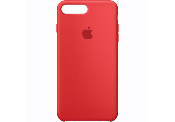 Apple iPhone 7 Plus Silicone Case, Product Red