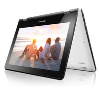 "Lenovo Yoga 300 4GB, 500GB 11"" Laptop, White"