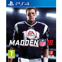 Madden NFL 18 for PS4