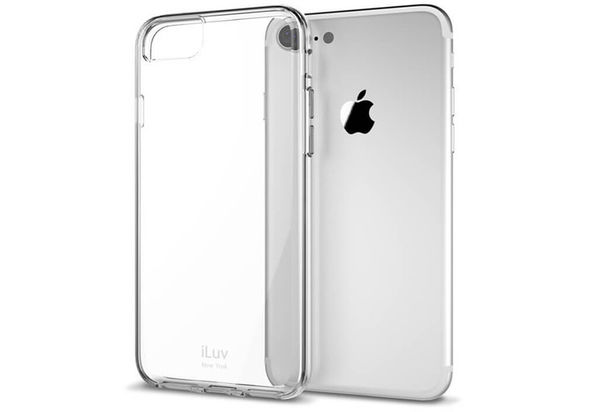 iLuv Vyneer Case for iPhone 7 Plus, Clear