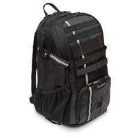 "Targus Work+ Play Cycling 15.6"" Laptop Backpack, Black"