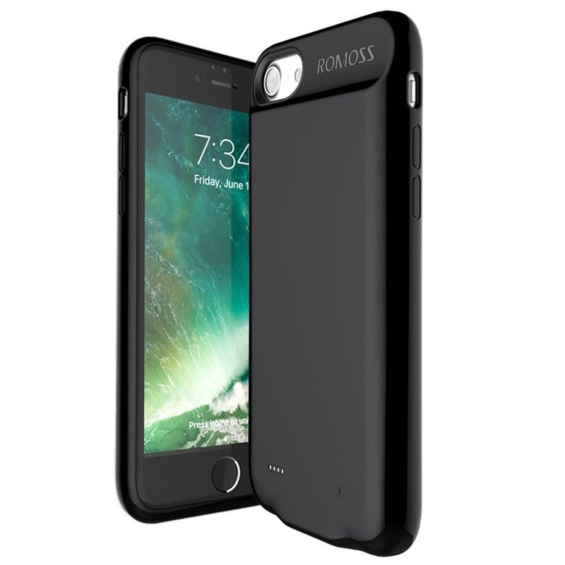 brand new 41977 cdc3a Romoss Encase 2800mAh Power Bank for iPhone 7, Black