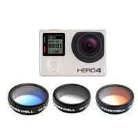 Freewell GoPro Housing Filter 3-Pack For GoPro 3 Plus/4