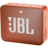 JBL GO 2 Portable Bluetooth Speaker,  Coral Orange