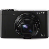 Sony Cyber-shot DSC-WX500 Digital Camera, Black
