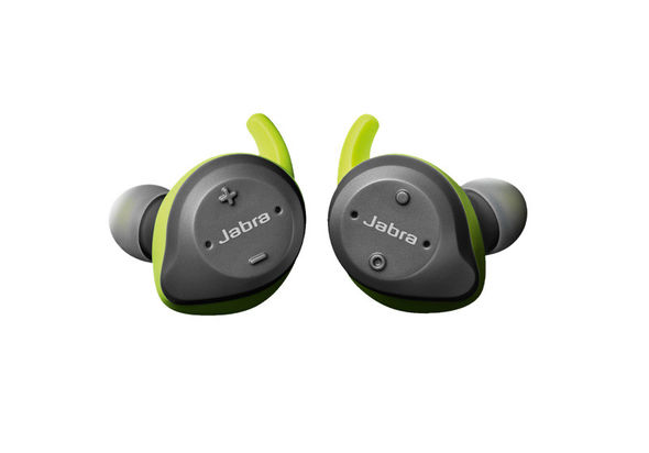 Jabra Elite Sport Bluetooth Wireless Earbuds, Grey