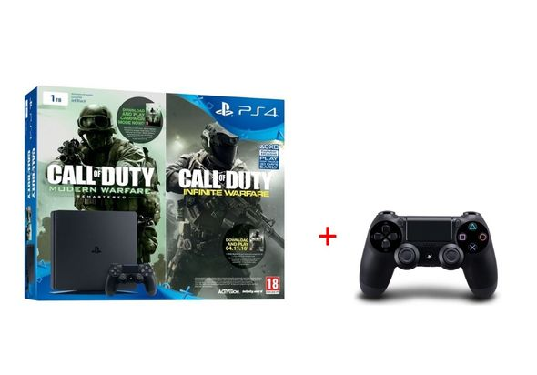 Sony PlayStation 4 1TB Slim Call of Duty: Infinite Warfare+ Modern Warfare Early Access Bundle