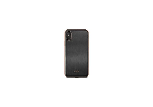 Moshi iGlaze Case for iPhone X, Imperial Black