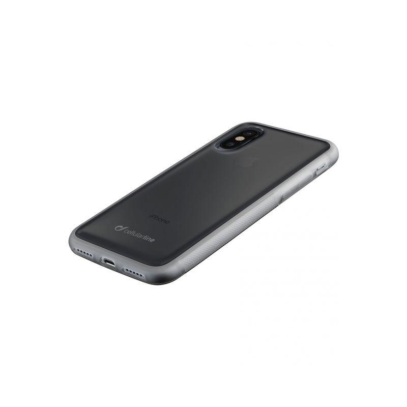 new concept cbf16 8e9d4 Cellularline Anti Gravity Case for iPhone X, Transperant