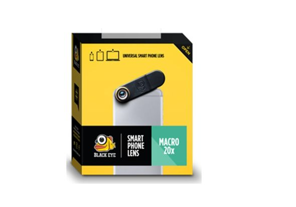Black Eye Macro x 20 MC002 Camera
