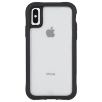 Case Mate Protection Clear/Black Case for iPhone Xs Max