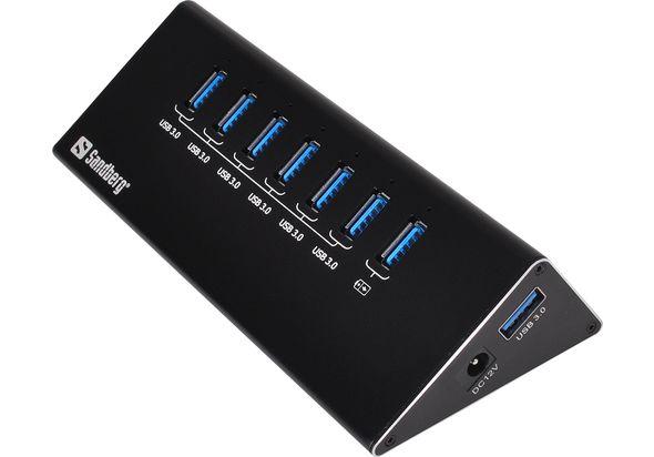 Sandberg USB 3.0 Hub 6+ 1 ports