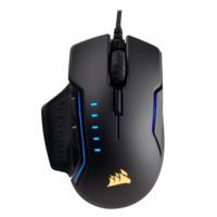 Corsair Glaive RGB Gaming Mouse, Black,  Carbon