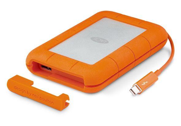 LaCie 2TB Rugged ThunderBolt & USB 3