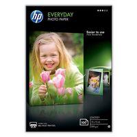 HP Everyday Glossy Photo Paper-100 sht/10 x 15 cm