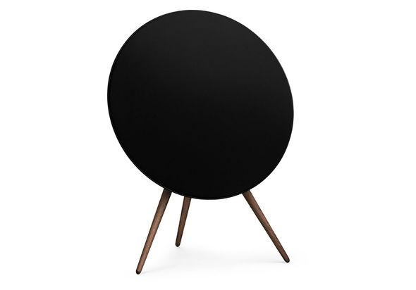 B&O PLAY by Bang & Olufsen BeoPlay A9 2nd Generation Home Audio Speaker System, Black with Walnut Legs