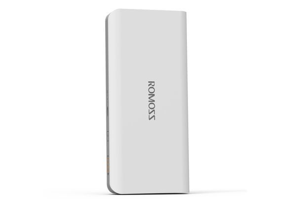 Romoss Sense 4P 10, 400mAh Power Bank, White
