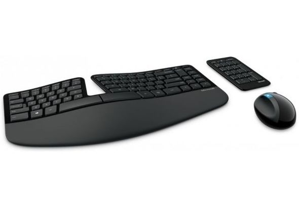 Microsoft L5V-00018 Sculpt Ergonomic Desktop Mouse and Keyboard