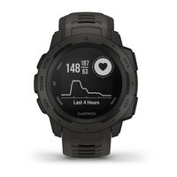 Garmin Instinct Graphite Rugged GPS Smartwatch, Graphite