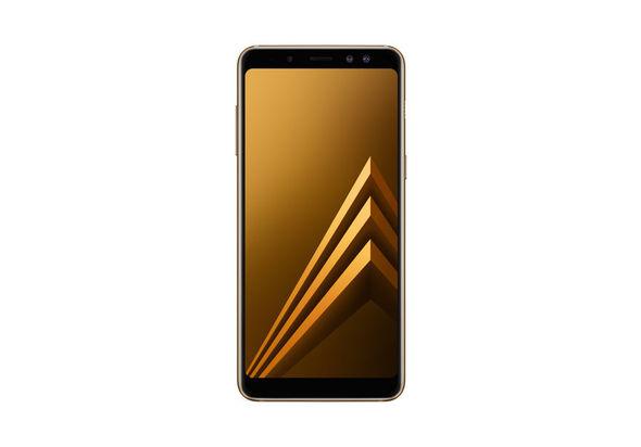 Samsung Galaxy A8 2018 Smartphone LTE, Gold
