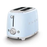 Smeg TSF01PBUK 2 Slice Toaster, Pastel Blue